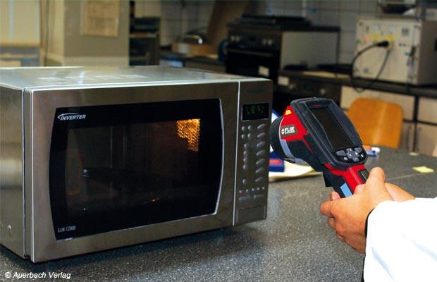 Einsatz einer Wärmebildkamera