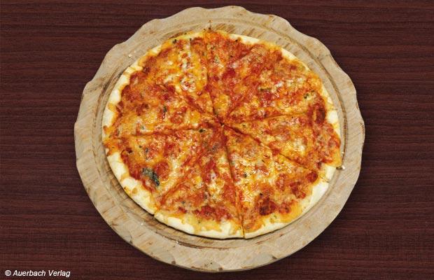 Sowohl in der Heißluftfunktion als auch im Pizza-Automatikprogramm der Samsung CE-1185UB gelingt die italienische Köstlichkeit knusprig und lecker