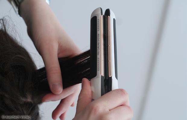 Das Rowenta-Modell glättete Locken in guter, naturglattes Haar in sehr guter Qualität