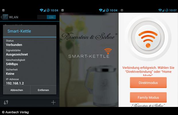 Die App ist kein Speicherfresser (nur knapp 3 MB groß) und keine Datenkrake, lässt sich schnell installieren und bietet zudem einen flotten Verbindungsaufbau