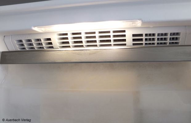 Für das NoFrost-System setzt Bauknecht auf eine starke Ventilation, zur Reifbildung kommt es im GKN 19F5 A+++ nicht