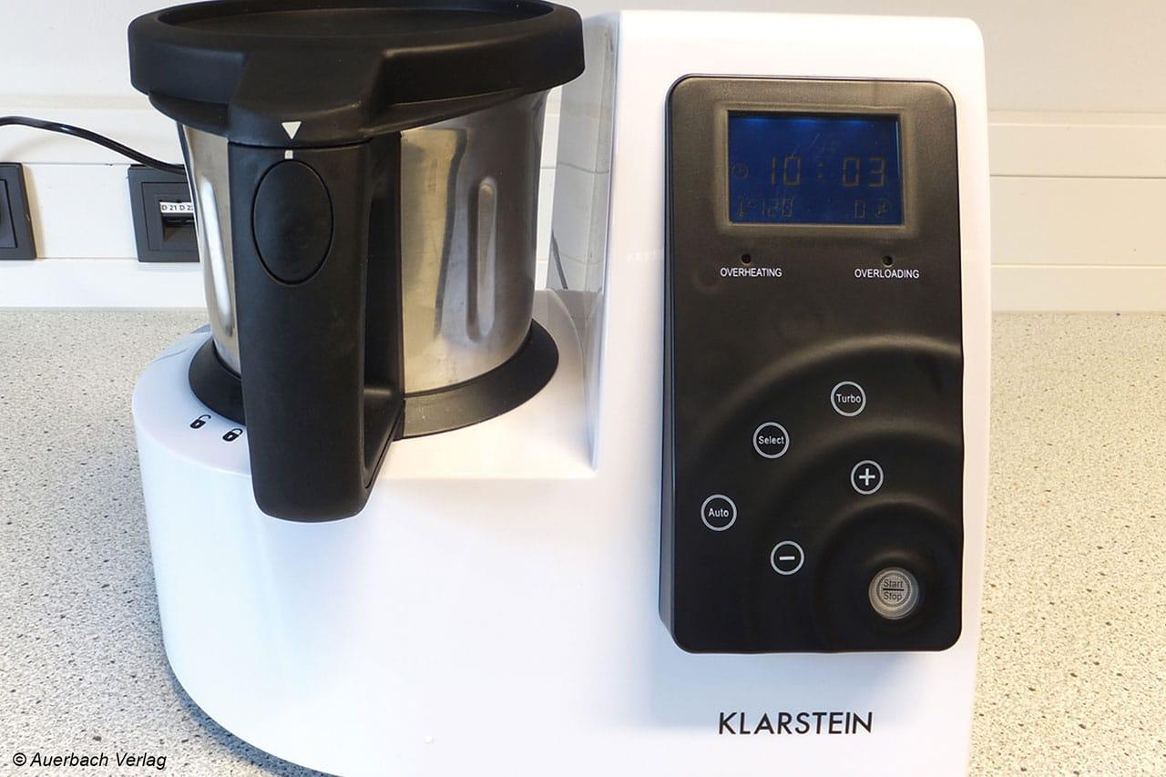 Klarstein setzt beim Kitchen Hero auf Touchbedienung. Diese wurde von den Probanden unseres Test durchweg positiv bewertet