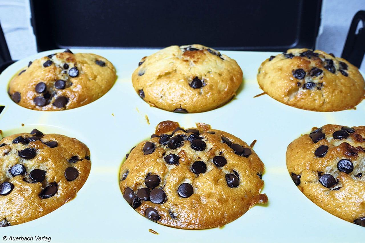 Für Muffin-Freunde hält der Gourmet Chef von KitchenOriginals by Kalorik eine funktionale 6er Backform aus Silikon bereit