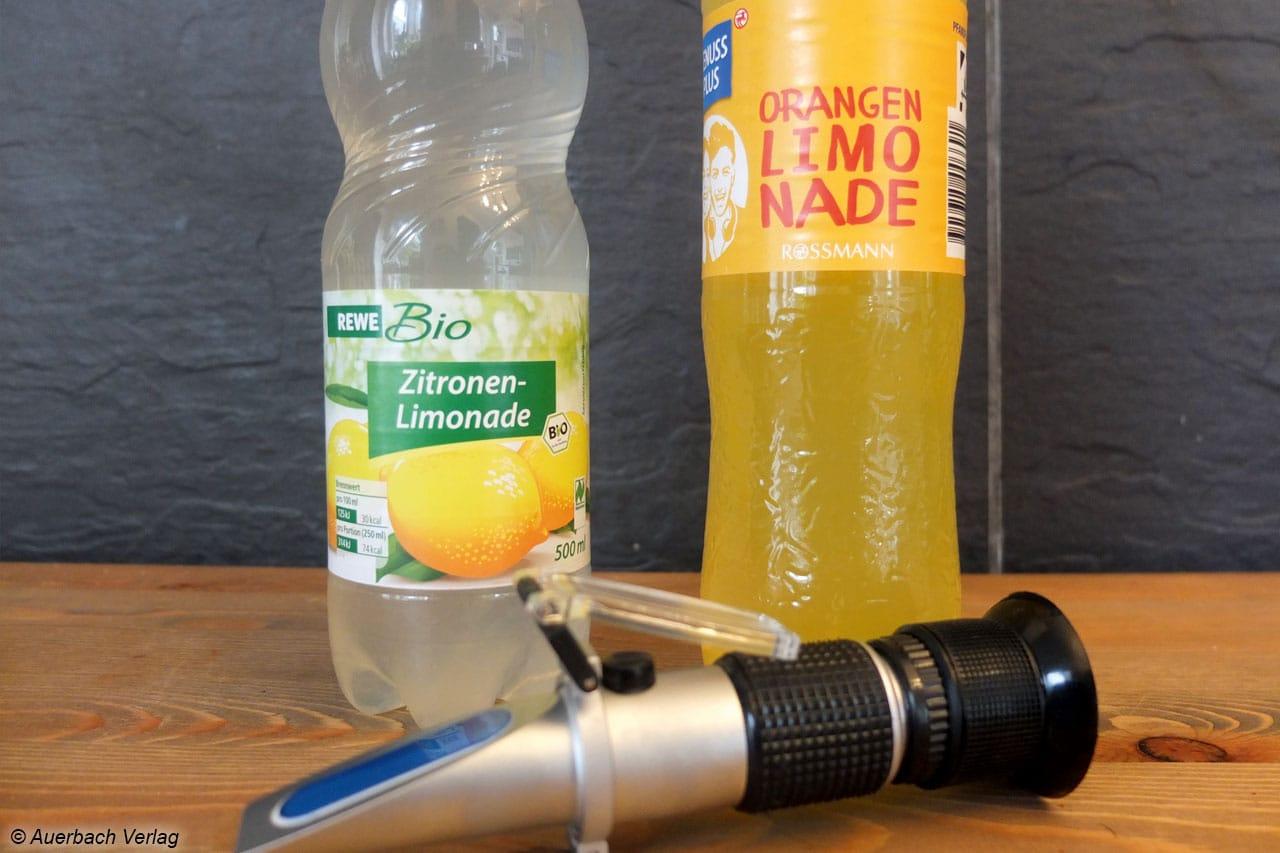 Refraktometer zur Bestimmung des Zuckergehaltes