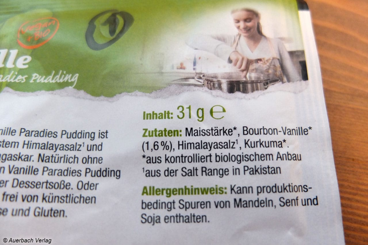 Im Pulver von Biovegan werden ausschließich natürliche Zutaten verwendet