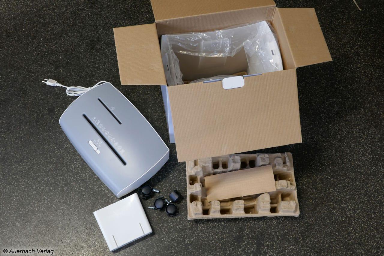 Kein Styropor: Karton-Formen sorgen für den nötigen Schutz während des Transports und lassen sich besser entsorgen