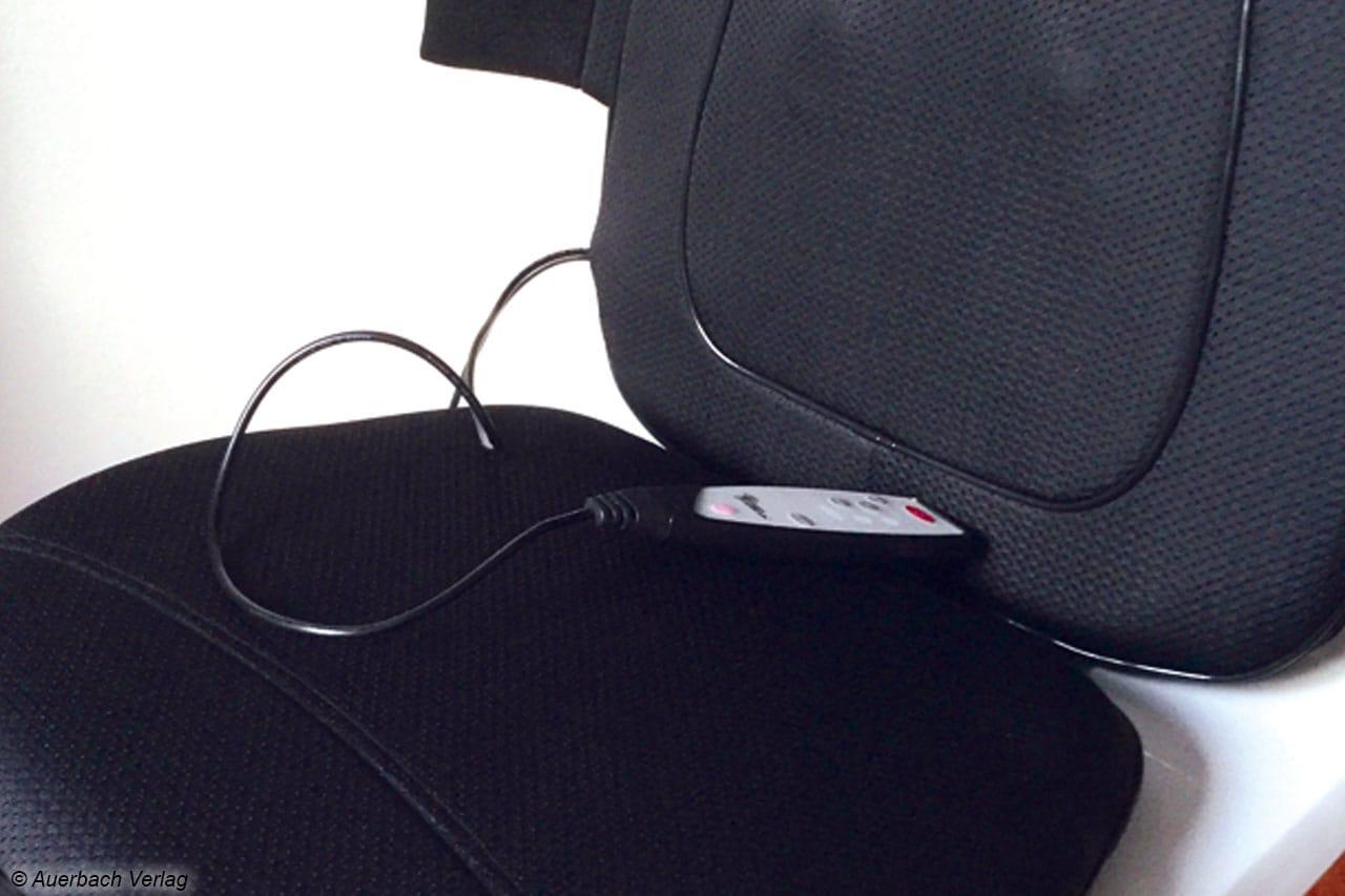 Die Matten sind schnell über einen Stuhl oder Sessel gelegt