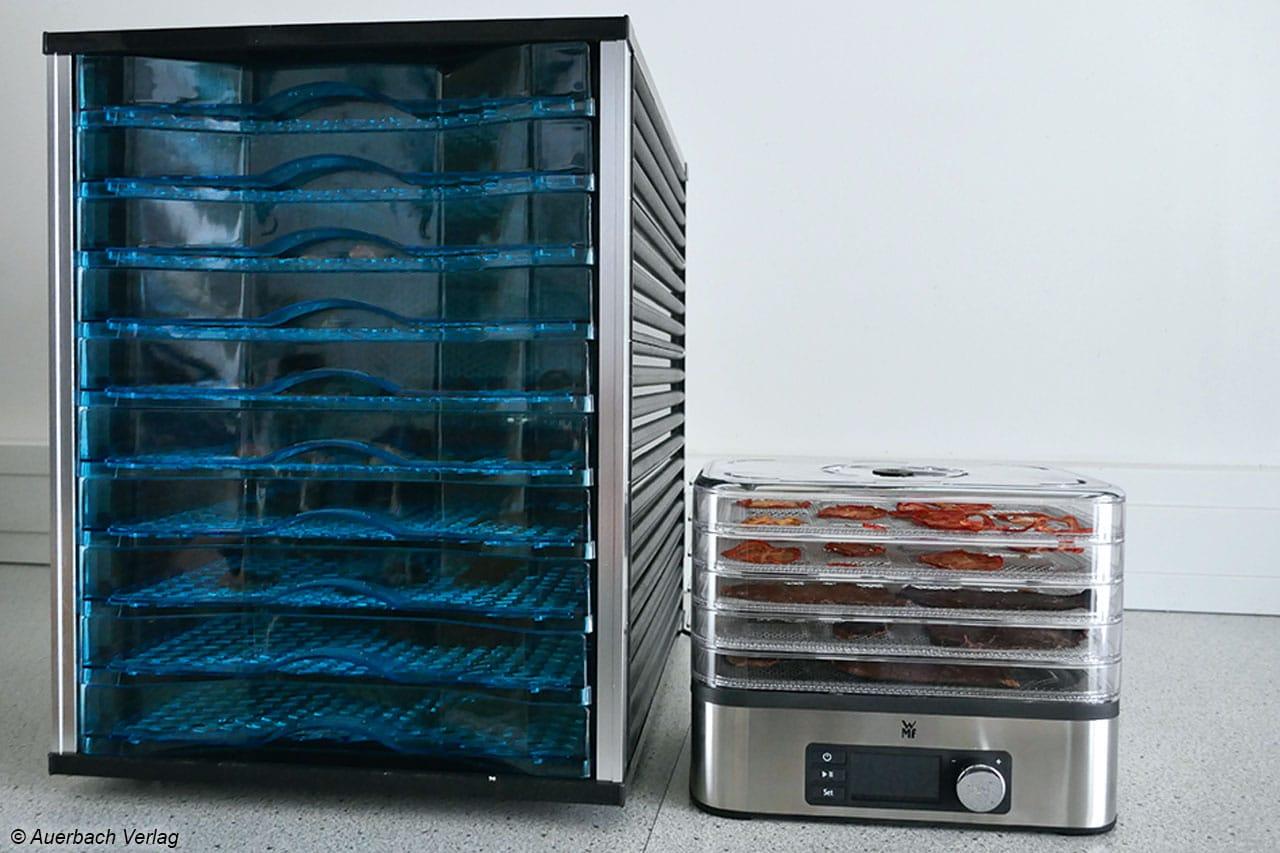 Der Größte und der Kleinste: Der Automat von Rosenstein & Söhne überragt den kleineren WMF um einiges