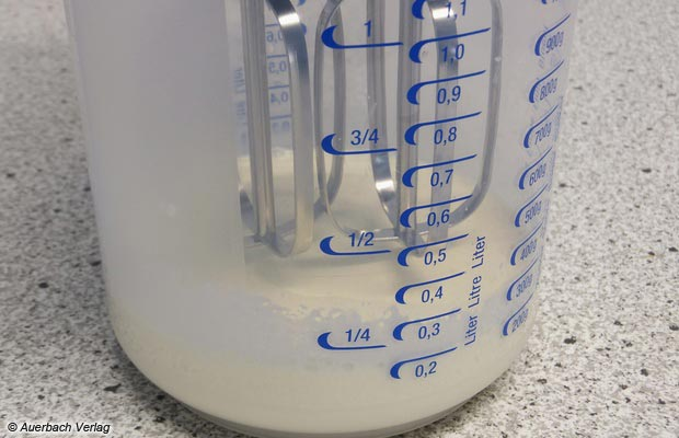 Die Länge der Rührbesen hätte ruhig größer ausfallen können, viele haushaltsübliche zylindrische Gefäße sind schlicht zu hoch