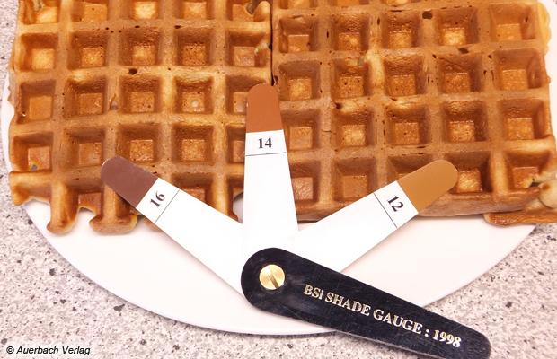 Perfekt gebräunt: Im Gastroback Design Waffeleisen Advanced 4S werden die Waffeln beispielhaft gleichmäßig gebräunt