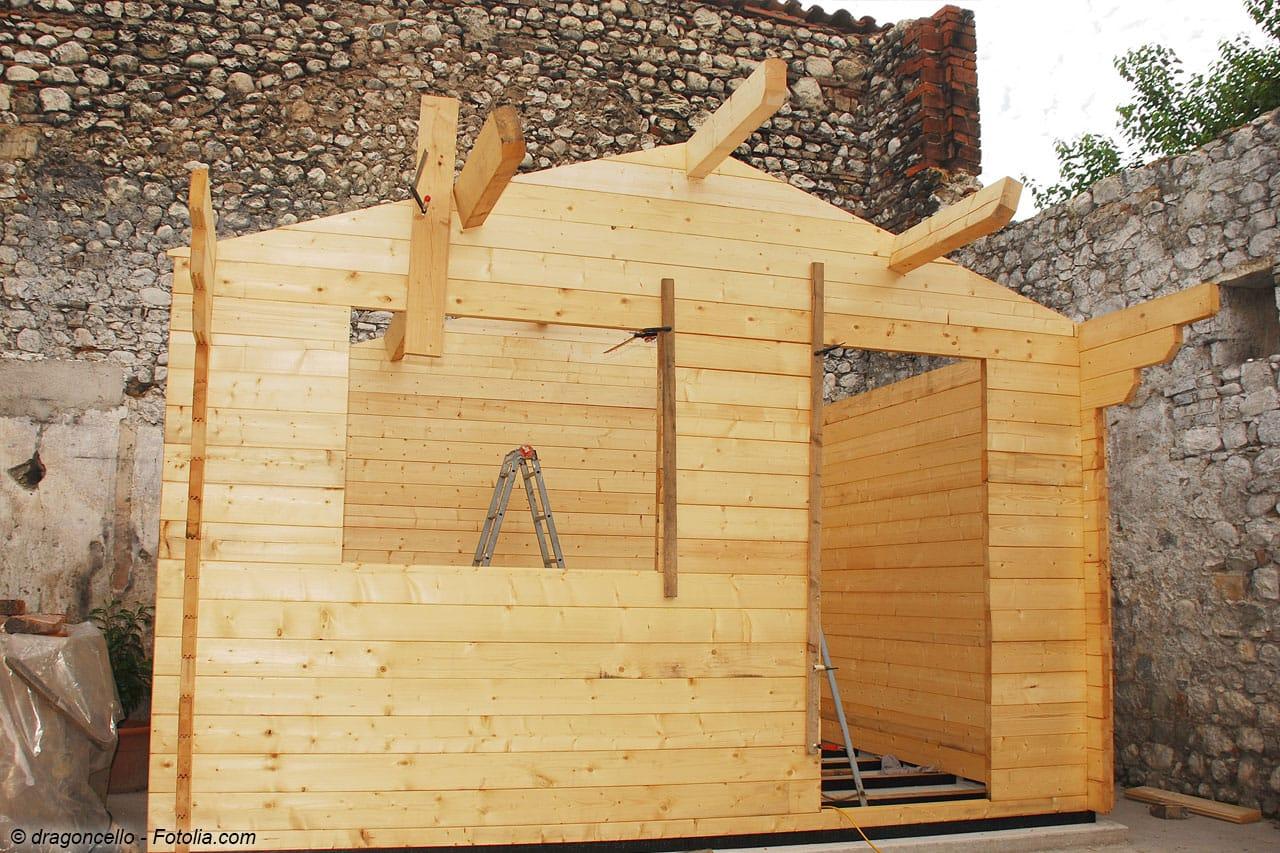4. Arbeitschritt: Dachkostruktion