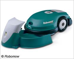 © Robomow Ein anschauliches Display erleichtert die Bedienung beim RL2000 von Robomow