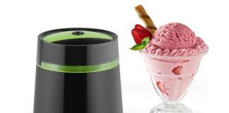 Mit der Klarstein Bacio Nero Speiseeismaschine produzieren Sie ab sofort, unabhängig von Wetter und Jahreszeit, selbstgemachte Eiscreme