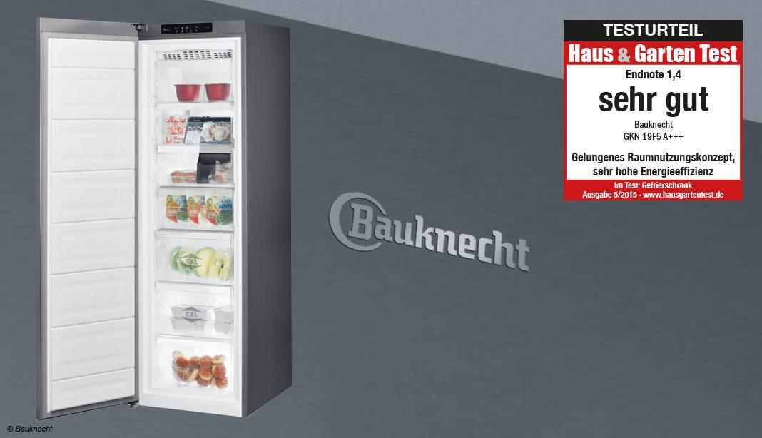 Gefrierschrank Bauknecht GKN 19F5 A+++ im Test – Haus & Garten Test
