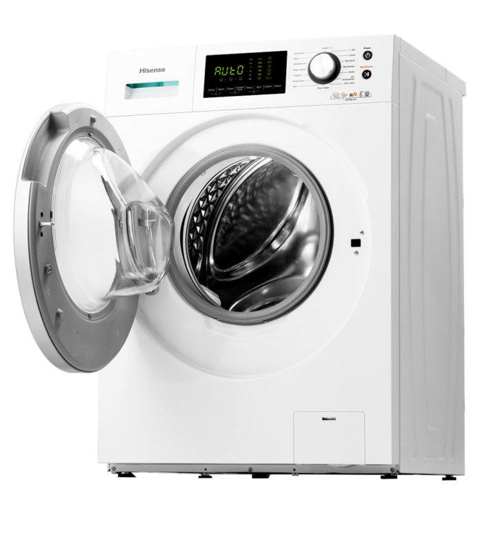 Smarter waschen mit der Waschmaschine WFPL8014VA von Hisense