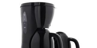 Praktische 1L Isolierkanne mit Anti-Tropfsystem für extra langen Kaffeegenuss. Ideal für große Gruppen! Besonders schönes Design in glänzendem Schwarz