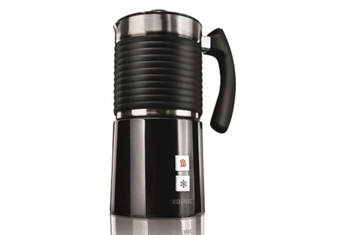 Der KOENIC Milchaufschäumer KMF 5211 ist ein kompetenter Latte-Art-Partner und verzerrt jede Tasse
