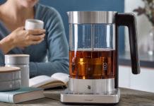 Für Teefreunde, die Wert auf besonderen Genuss legen, wurde der WMF LONO Tee- und Wasserkocher 2in1 perfektioniert
