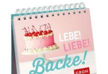 Mit Liebe gemacht: Bunter Mini-Spiralaufsteller aus dem Groh Verlag für alle, die gerne backen