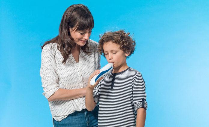 Atemanalysegerät Vivatmo me von Bosch für Asthmatiker