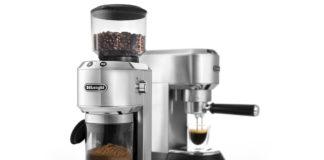 Neue Kaffeemühle Dedica von De'Longhi