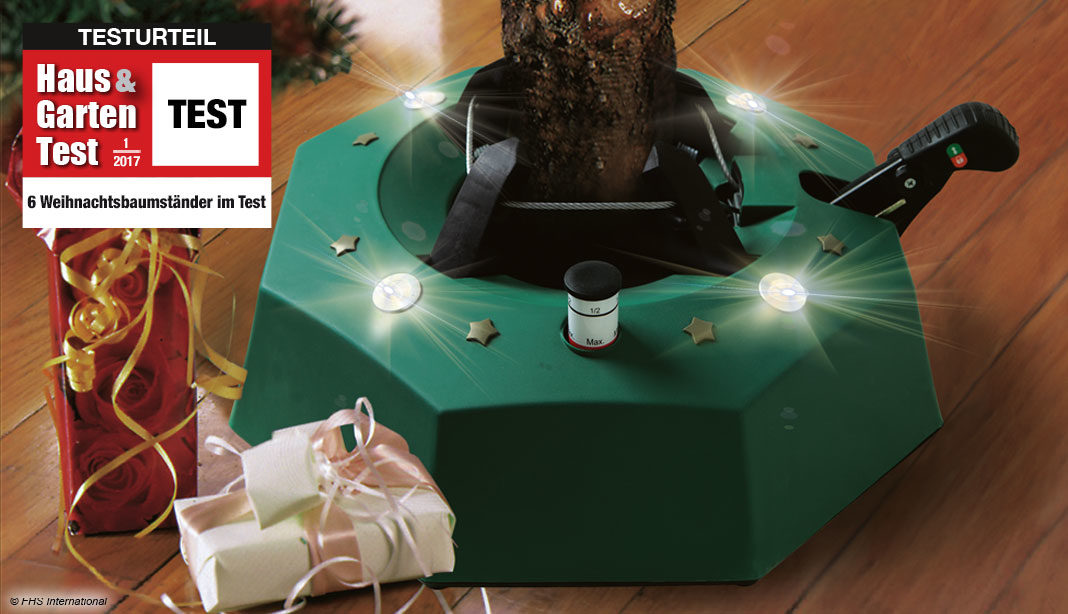 Weihnachtsbaumständer Test
