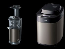 Panasonic Slow Juicer MJ-L600 und Brotbackautomat SD-ZB2522