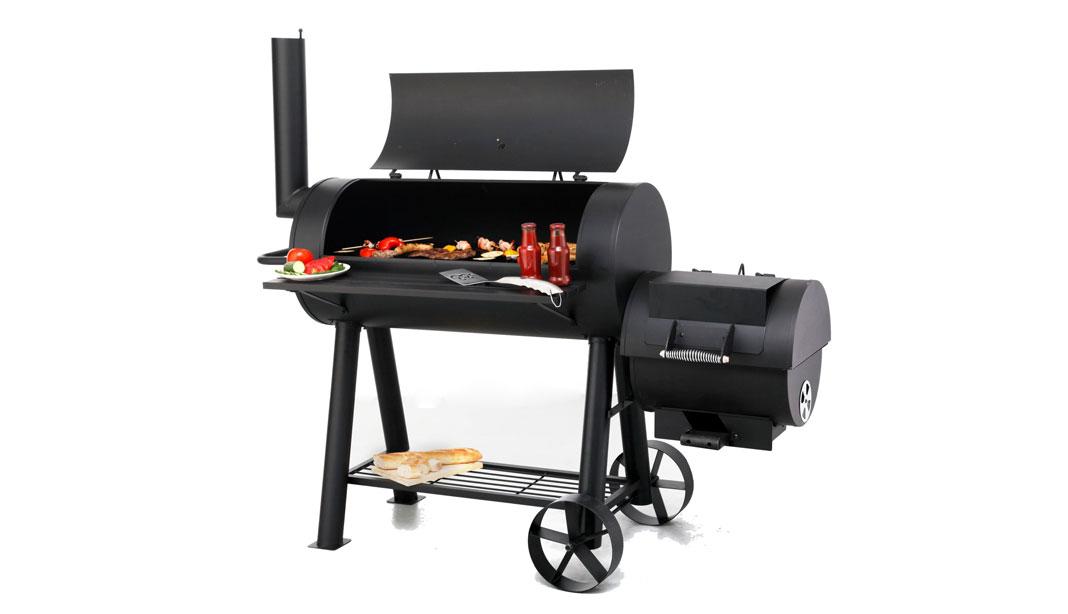 Gas Und Holzkohlegrill Mit Smoker : Jamestown drake von obi grillforum und bbq grillsportverein