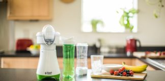 Der Smoothie Maker Mix & Go Juice von Russell Hobbs