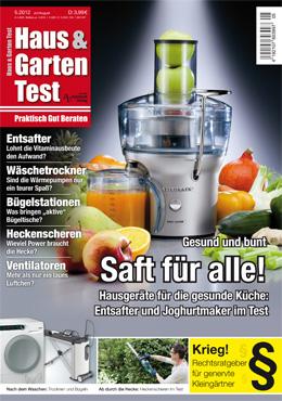 Haus & Garten Test 5/2012