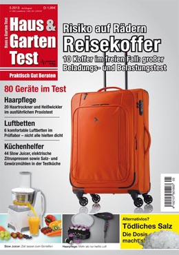 ausgabe 5 2013 haus garten test. Black Bedroom Furniture Sets. Home Design Ideas