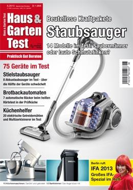 Haus & Garten Test 6/2013