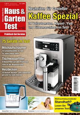 ausgabe 1 2014 haus garten test. Black Bedroom Furniture Sets. Home Design Ideas