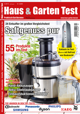 ausgabe 4 2015 haus garten test. Black Bedroom Furniture Sets. Home Design Ideas