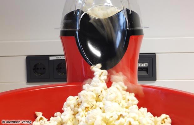 Popcorn-Maschine Popcorn-Maker Unold Retro-Design im 50er-Stil NEU