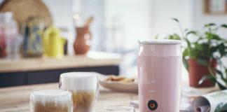 Den neuen Senseo Milk Twister gibt es in den Trendfarben Rosa und Mint