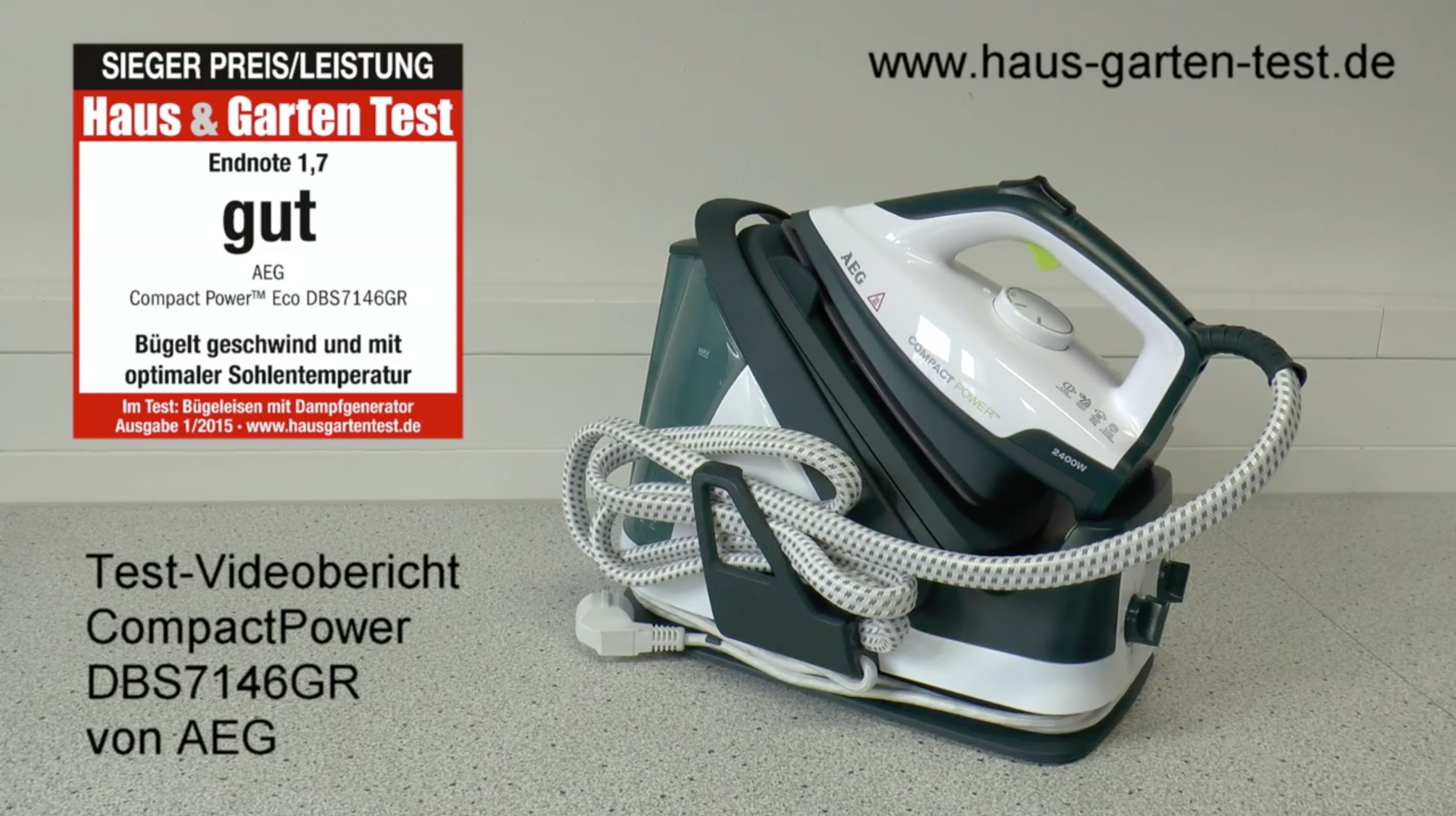 testvideo aeg compactpower dbs7146gr haus garten test. Black Bedroom Furniture Sets. Home Design Ideas