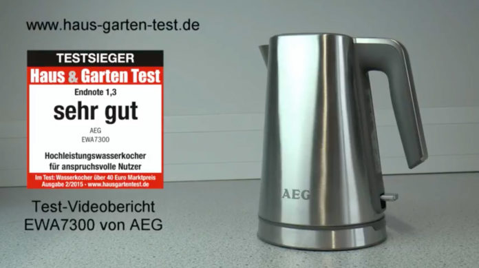 testvideo aeg wasserkocher ewa7300 haus garten test. Black Bedroom Furniture Sets. Home Design Ideas