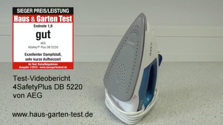 testvideo aeg db5220 4safetyplus haus garten test. Black Bedroom Furniture Sets. Home Design Ideas