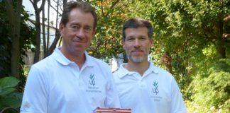 Umweltpionier-Gründer Stephan Hinterkörner (l.) und Alexander Götzl