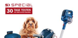 Die S'Special Serie richtet sich mit ihrem spezifischen Repertoire an Bürsten speziell dem Kampf gegen Allergien