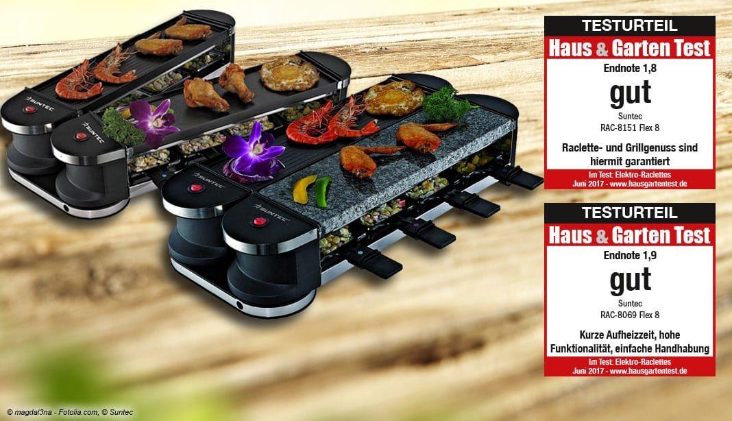 Outdoor Küchen Test : Im test raclette suntec rac rac u haus garten test