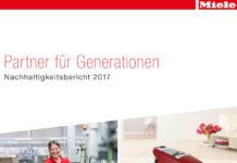 Der Miele Nachhaltigkeitsbericht 2017 steht unter www.miele.com/nachhaltigkeit zum Download zur Verfügung