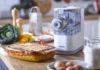 Der Pastamaker VivaPlus bietet vier Formscheiben zum Kreieren unterschiedlicher Pasta: normale Spaghetti, Penne, Fettuccine und Lasagne