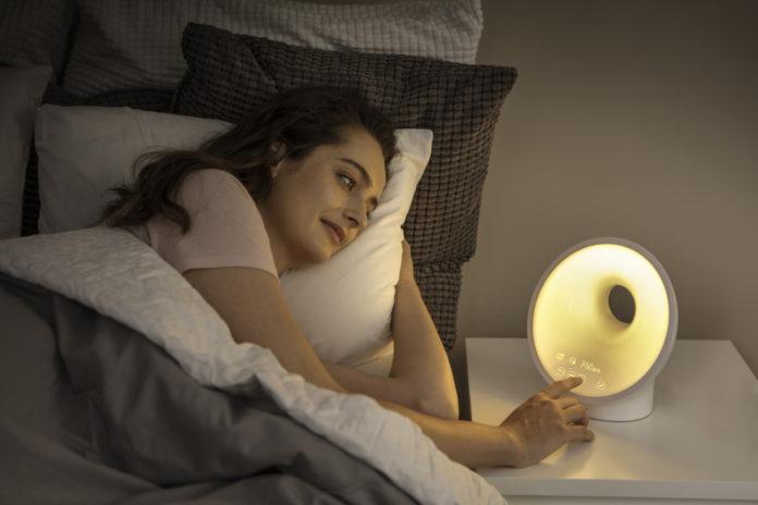 Mit dem neuen Wake-up Light entspannt einschlafen und aufwachen