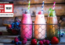 Frucht-Smoothies Test