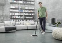 Wohnungsputz: Laut internationaler Studie nutzen knapp 90 Prozent der Deutschen elektrische Haushaltsgeräte - wie Staubsauger und Dampfreiniger - sowie chemische Reinigungsmittel zum Saubermachen ihrer Wohnung
