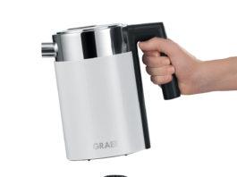 Der intelligente Wasserkocher für die ganze Familie ist multitaskingfähig. Mit ihm kann auch Babynahrung erwärmt werden