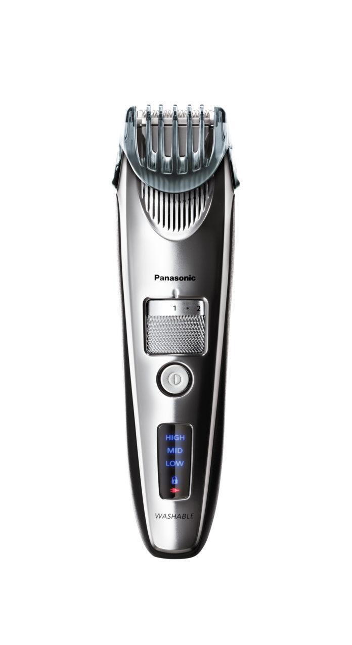 Perfekt gepflegte Männerhaare mit Premium-Technik von Panasonic: Der neue Bartschneider ER SB60 für exaktes und hautschonendes Styling-Vergnügen