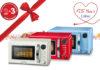 Die zusätzliche Garantie für die Retro-Mikrowellen von Severin erhält der Kunde einfach und unkompliziert per Online-Registrierung. © Severin